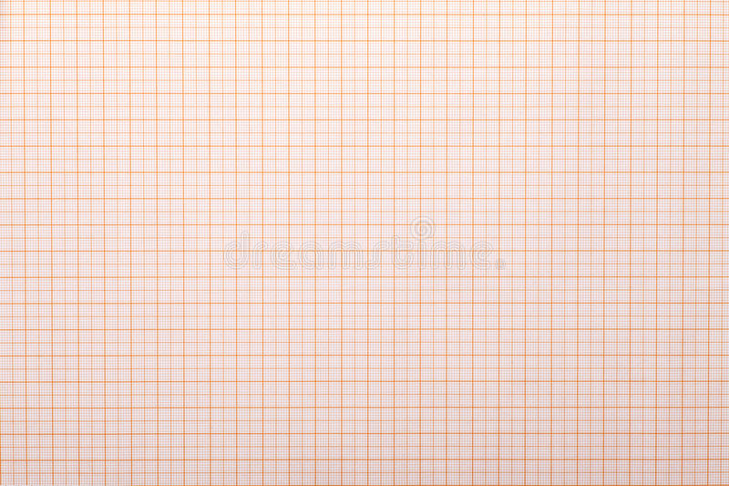 Graph paper. With quartered sub sections stock photo