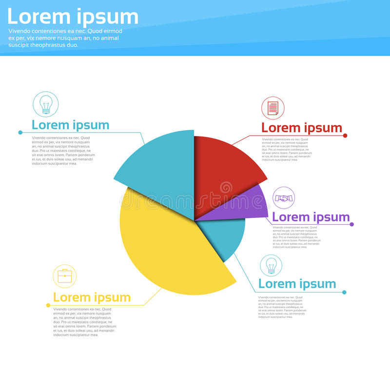 Graph Set Finance Diagram Infographic Icon Financial Business Chart vector illustration