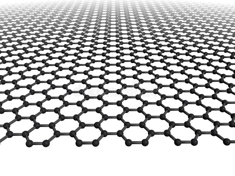 graphene页 库存例证