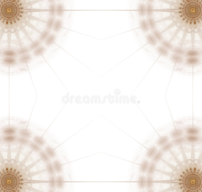 Graphic - 4 Corners gold disc stock illustration