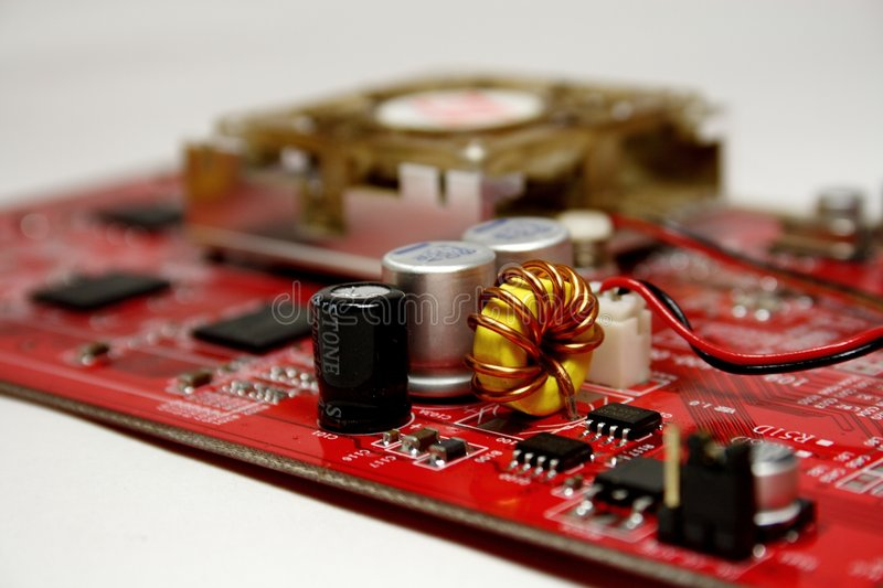 Download Graphic adapter stock image. Image of connector, circuitry - 7373827
