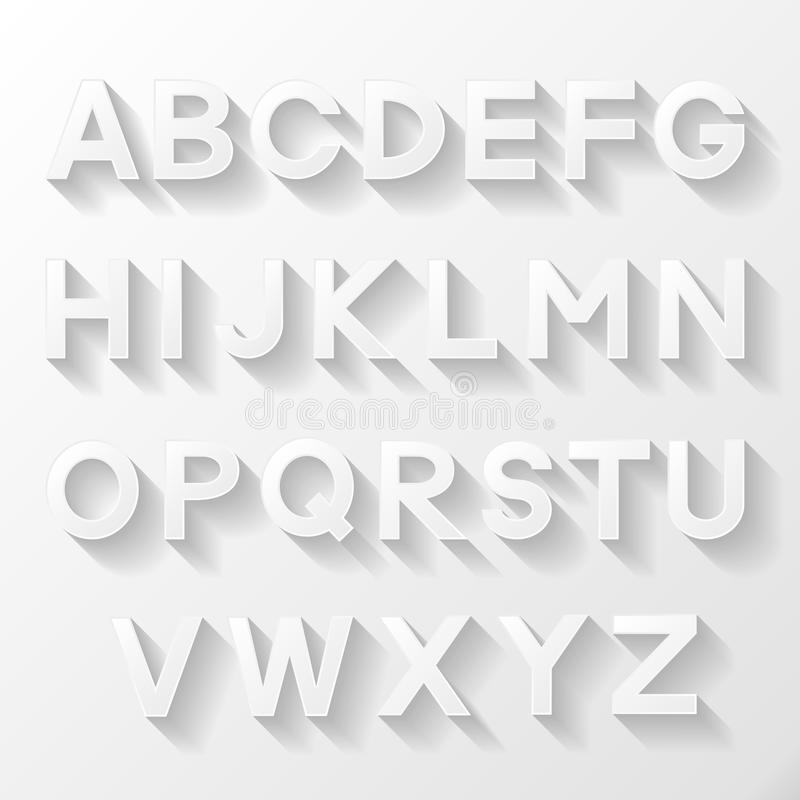 Download Graphic alphabet set stock vector. Illustration of graphic - 42135456