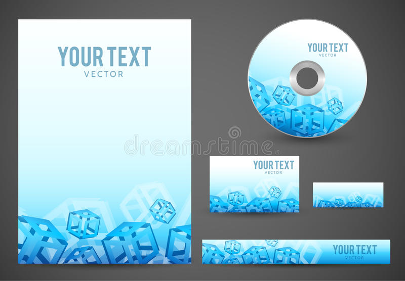 Graphic Business Layout vector illustration
