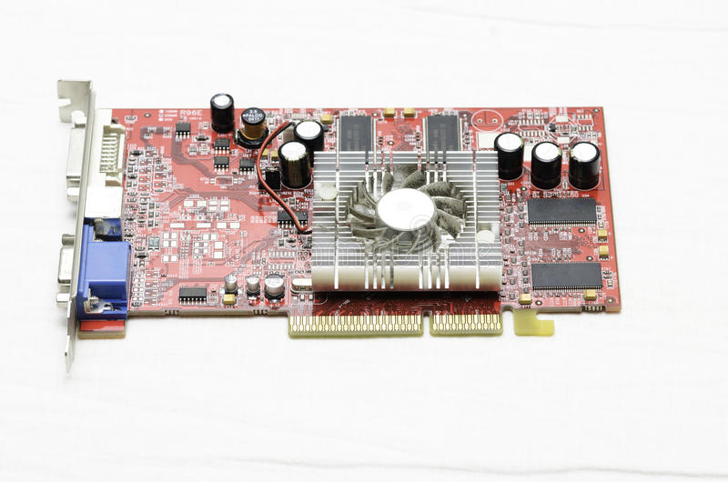 Graphic card royalty free stock photos
