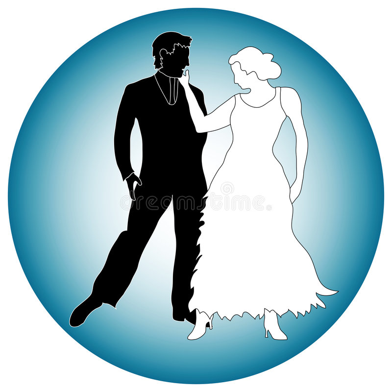Download Graphic of dance partners stock vector. Image of illustrated - 6178824
