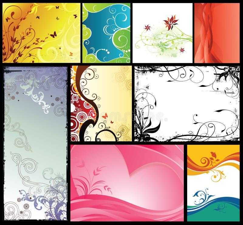 Graphic Design Backgrounds vector illustration