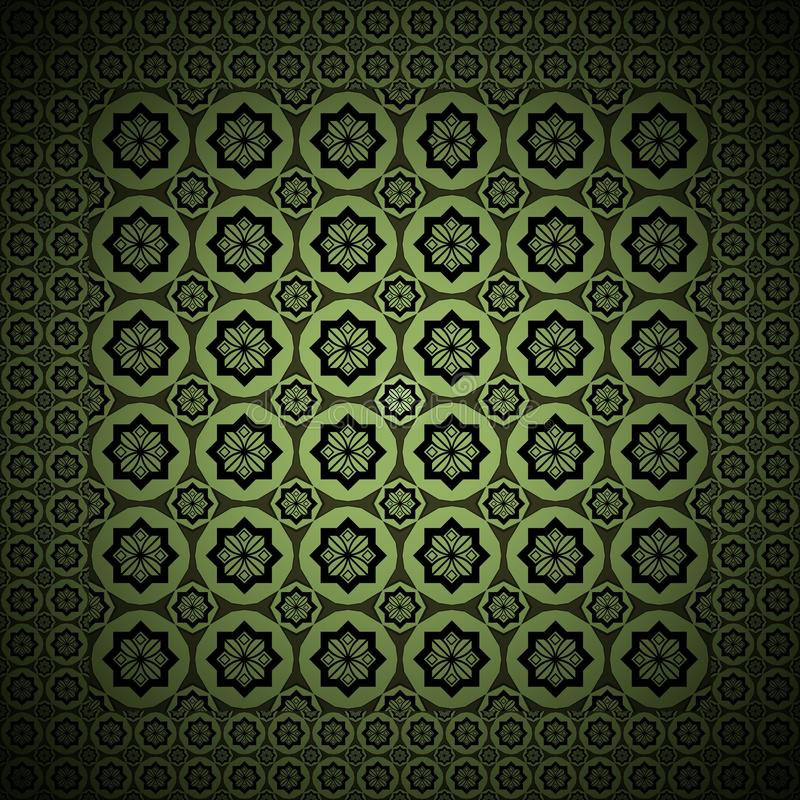 The Graphic Design Green Vintage Style royalty free stock photography
