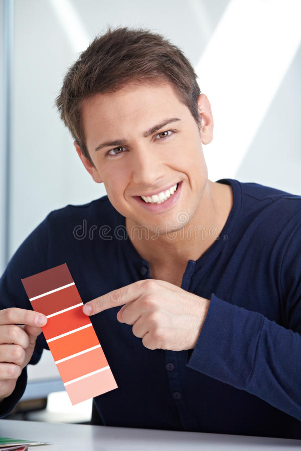 Download Graphic Designer With Red Color Royalty Free Stock Photo - Image: 27003695