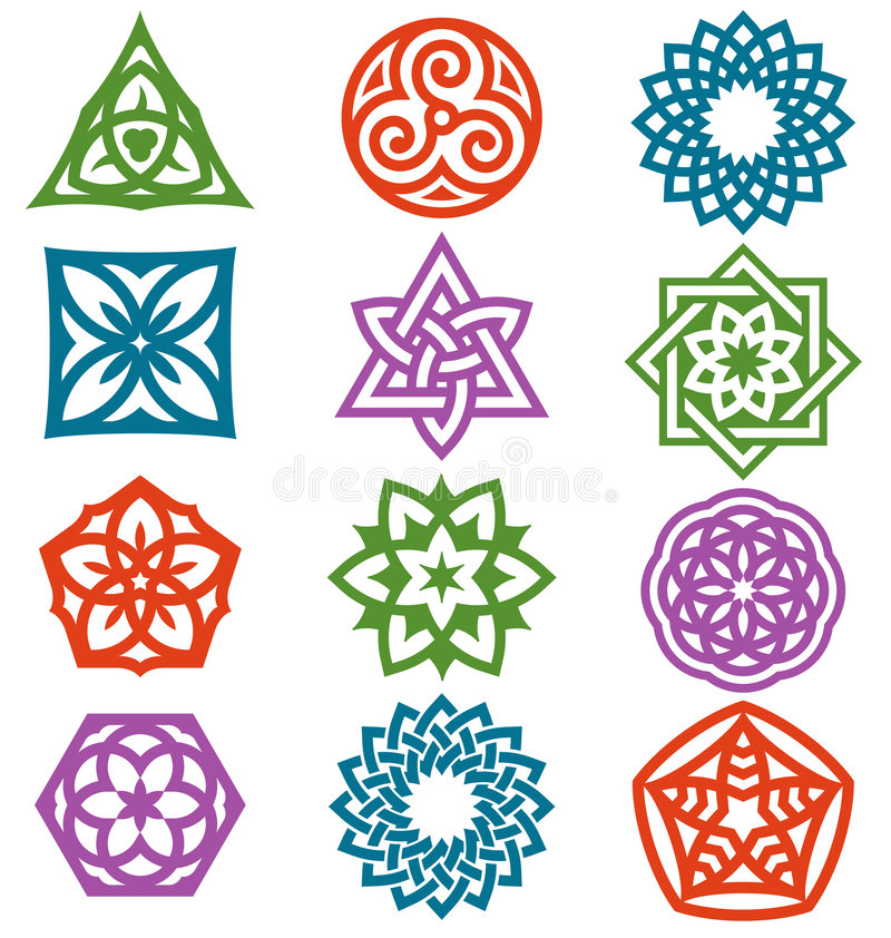 Download Graphic elements 2 stock vector. Image of symbol, star - 8028310