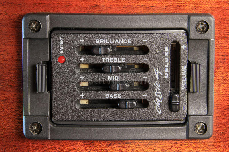 Download Graphic Equaliser Set In Wood Stock Image - Image of music, treble: 19611347