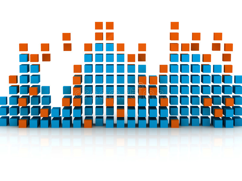 Graphic Equalizer Royalty Free Stock Photography