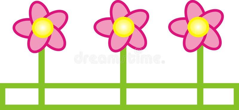 Graphic flower illustration