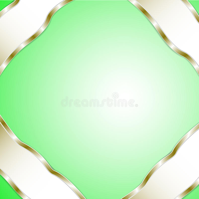 Graphic green background for text and message. Vector background graphic message board for text and message royalty free illustration