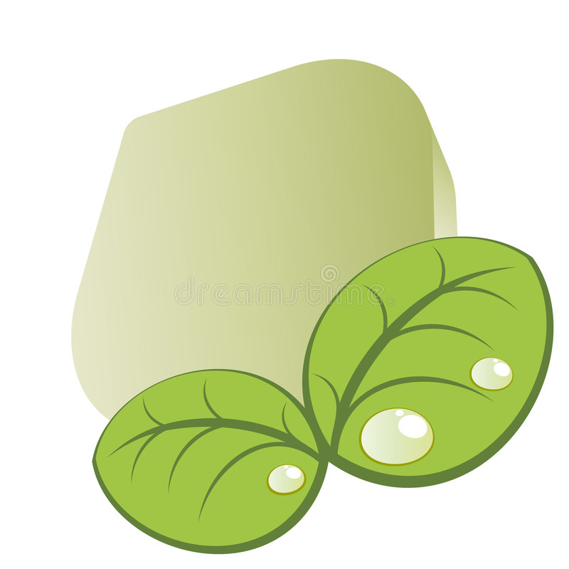 Download Graphic of green leaves stock vector. Illustration of veins - 8463232