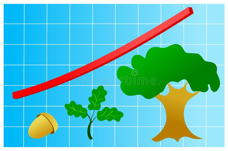 Download Graphic of growth stock vector. Illustration of economy - 14067040