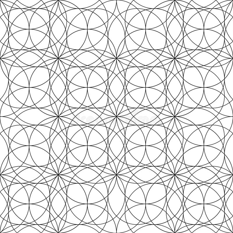Graphic Sacred Geometry Pattern Stock Vector - Illustration of ...