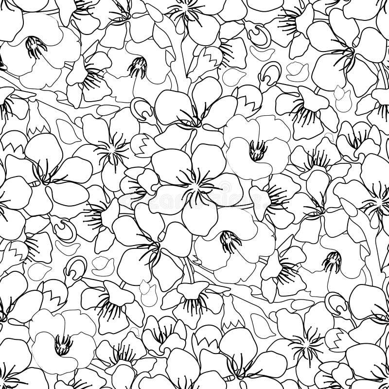 Download Graphic Sakura Pattern Stock Vector Illustration Of Chinese