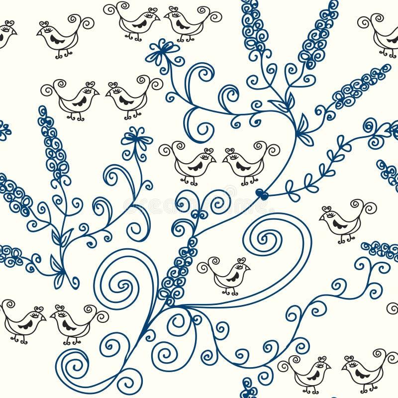 Graphic seamless pattern stock illustration