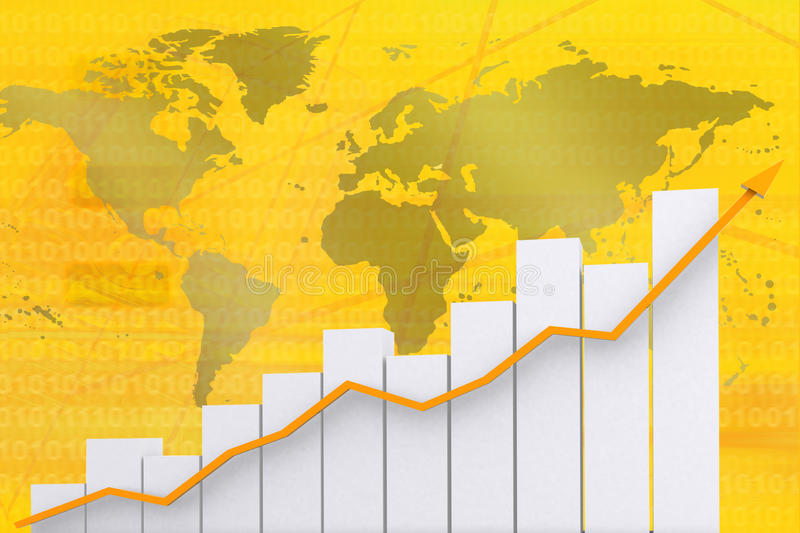 Download Graphic showing growth stock illustration. Illustration of showing - 10938847