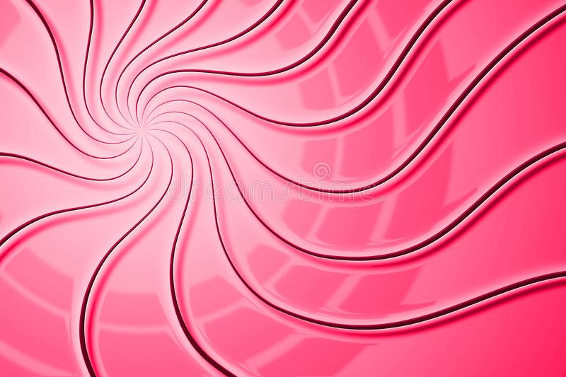 Graphic Swirl Background. Red, Watermelon, Candy. royalty free stock photography
