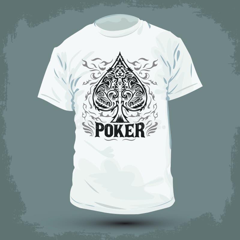 Le Dimensioni Contano Poker Grafica T-shirt 5QLbMZ24x
