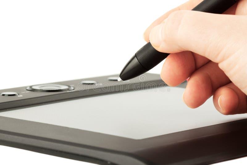 Download Graphic tablet stock illustration. Image of freedom, digital - 23432885