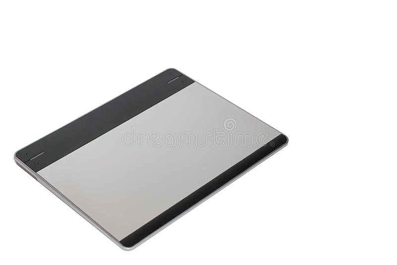 Graphic tablet for illustrators royalty free stock photos