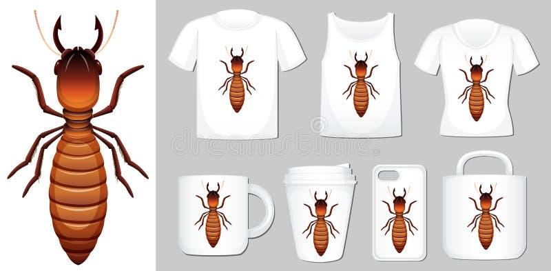 Termite Stock Illustrations – 1,899 Termite Stock