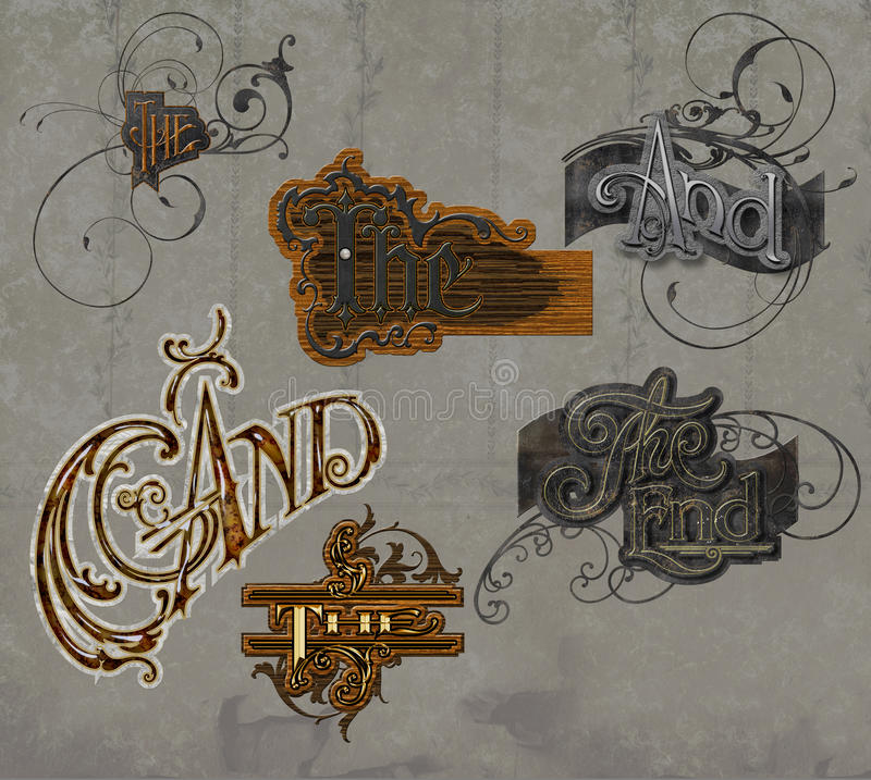 Download Graphic Text Word Collection Stock Illustration - Image: 11715437