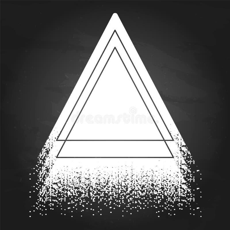 Graphic triangular shape stock vector. Illustration of graphic ...