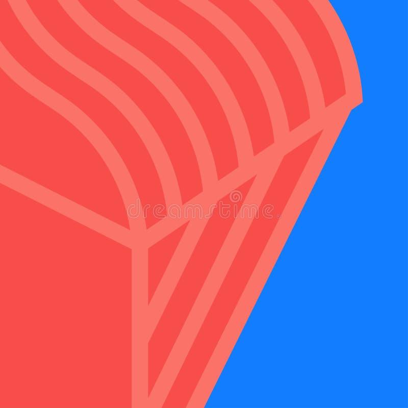 Graphic vector background design in stylish colors. Modern vector backdrop design in stylish colors. Creative illustration stock illustration