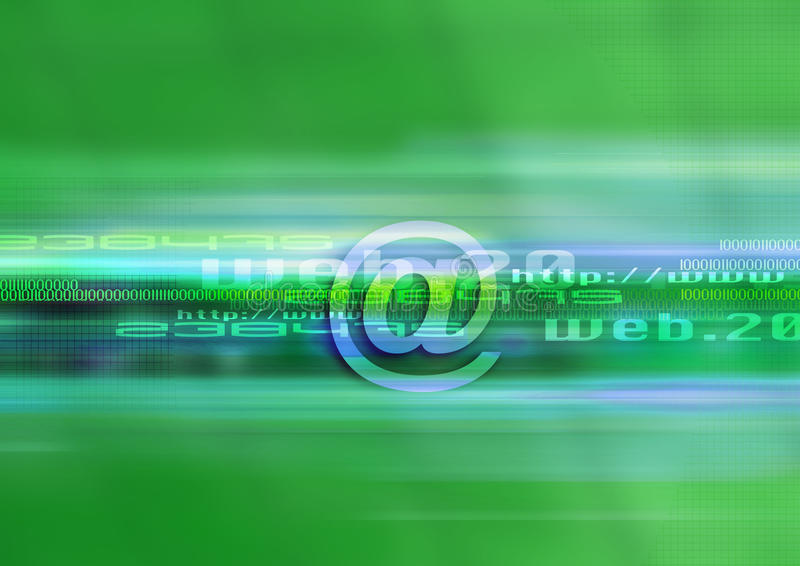 Graphic web technology royalty free stock photos