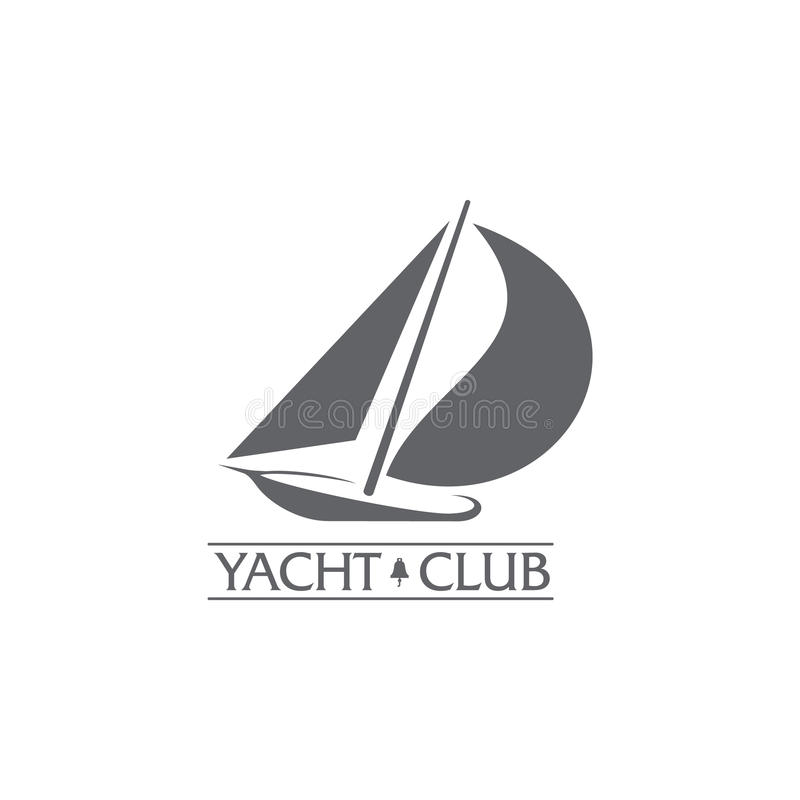 Graphic yacht club sailing sport logo with wind filling sails download graphic yacht club sailing sport logo with wind filling sails stock vector illustration toneelgroepblik Image collections