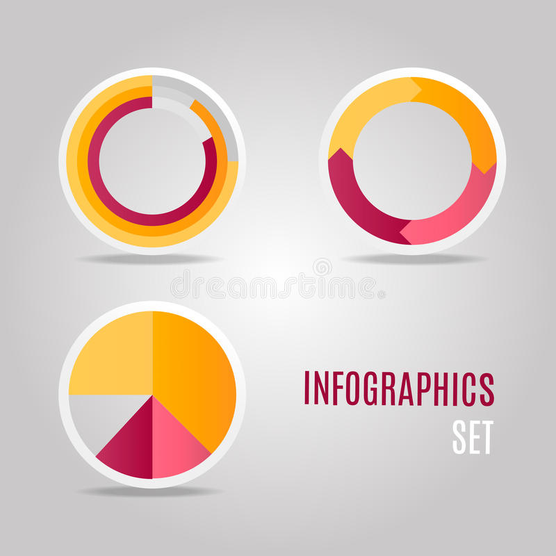 Graphical representation of the results. royalty free stock image