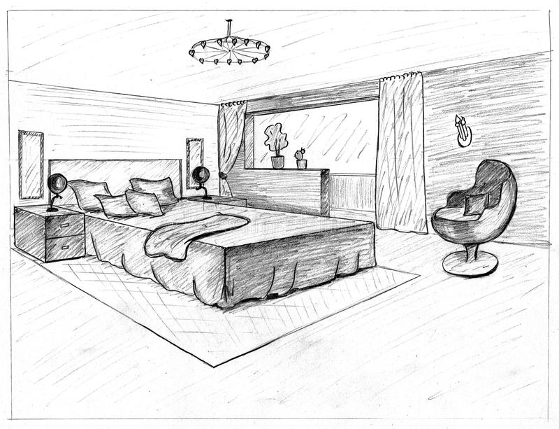 Download Graphical sketch stock illustration. Image of floor, business - 29973283