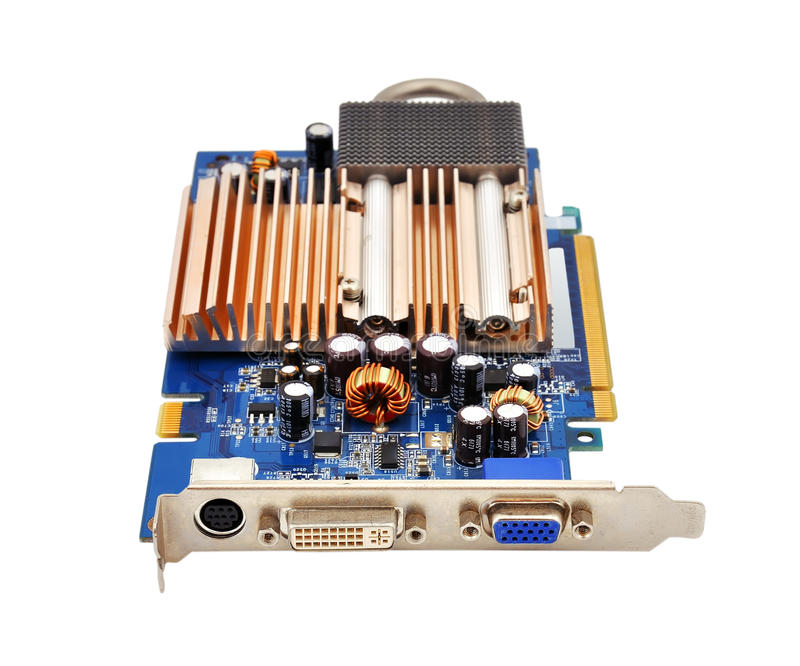 Download Graphics Card Royalty Free Stock Photo - Image: 26348445