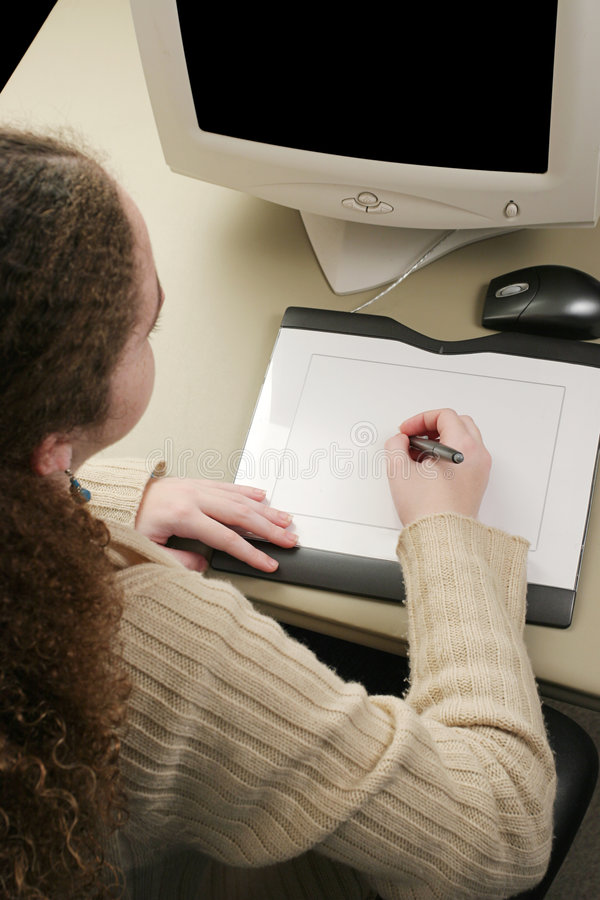 Download Graphics Tablet Vertical stock photo. Image of design, learn - 455418