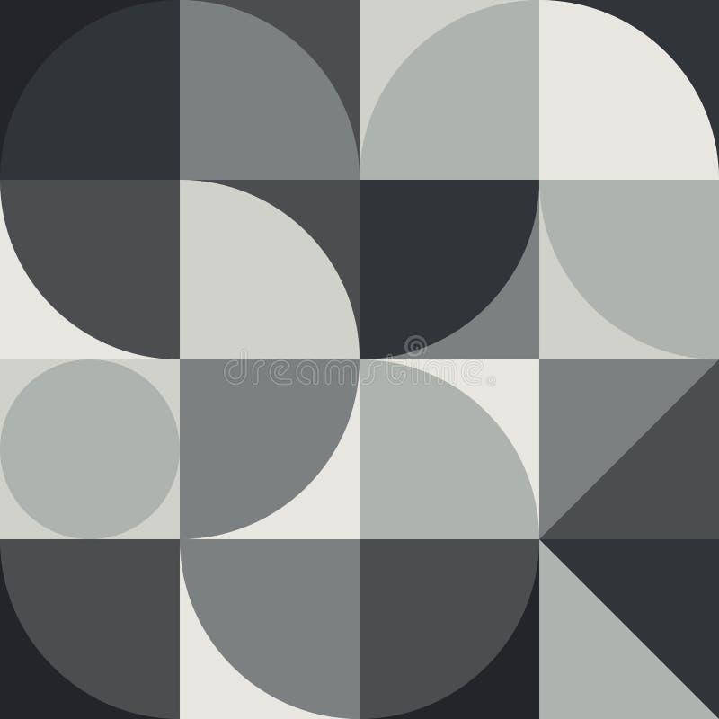 Graphique abstrait 04 de modèle de la géométrie illustration de vecteur