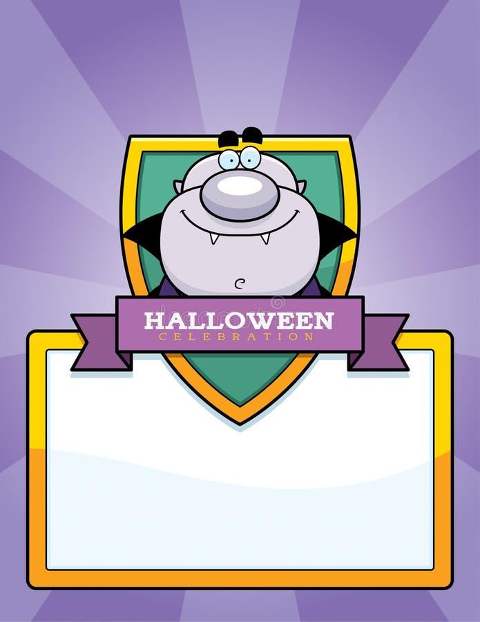 Graphique de Halloween de vampire de bande dessinée illustration libre de droits