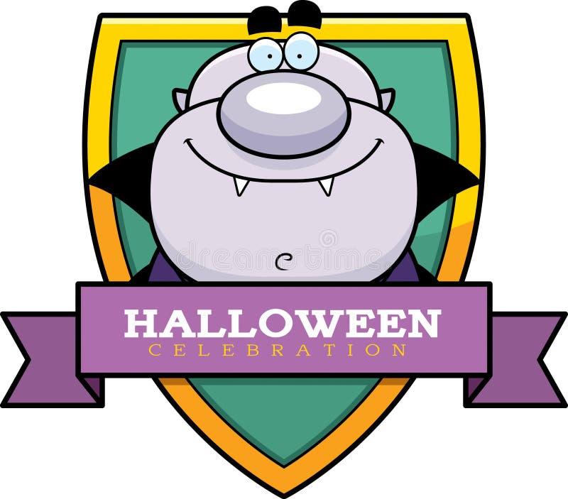 Graphique de Halloween de vampire de bande dessinée illustration de vecteur