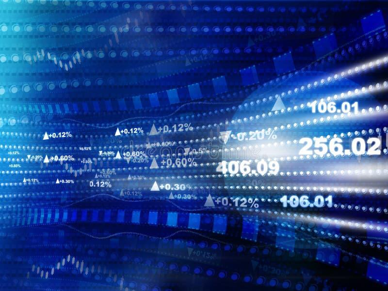 Graphique de sciences économiques du monde image libre de droits