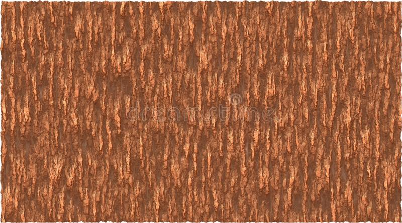 Graphique de vecteur de fond de thème d'écorce dans le brun illustration de vecteur