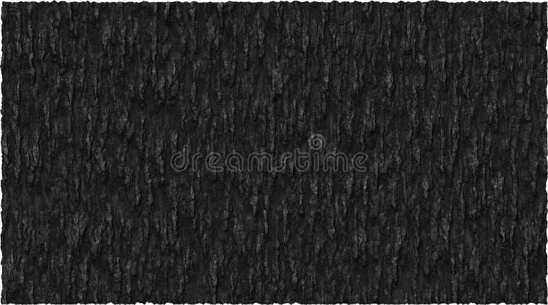 Graphique de vecteur noir de fond de thème d'écorce illustration libre de droits