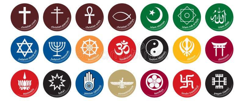 Graphisme 1 de religion illustration libre de droits
