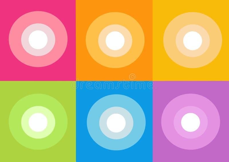 Graphisme Cd de disque illustration stock