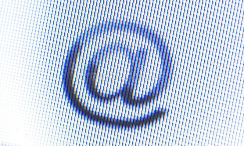 Graphisme d'écran images libres de droits