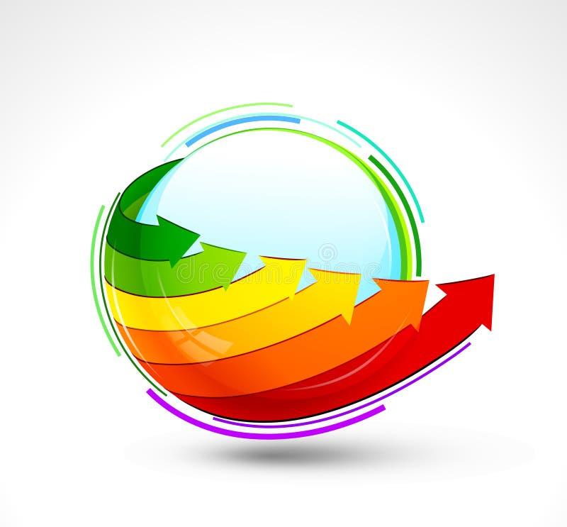 Graphisme d'énergie illustration libre de droits