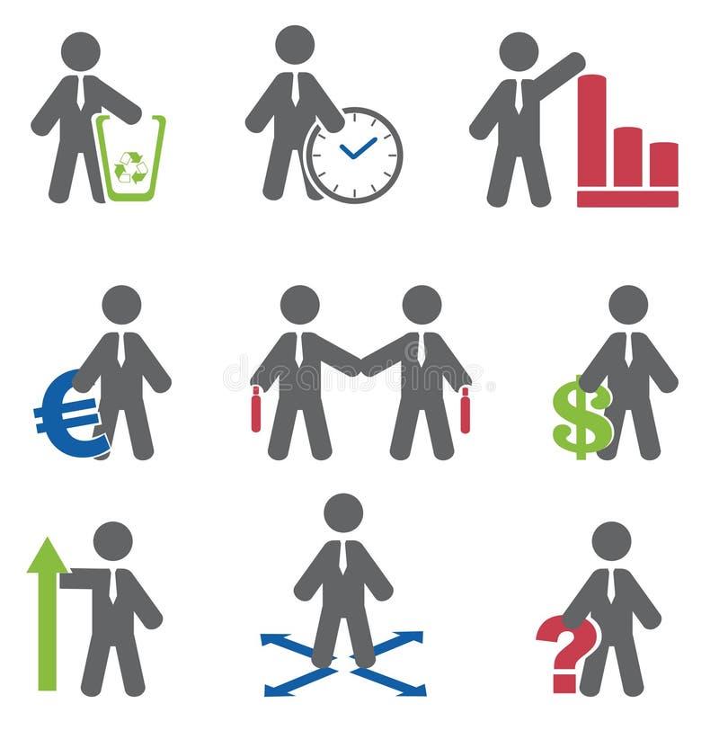 Graphisme d'affaires illustration de vecteur