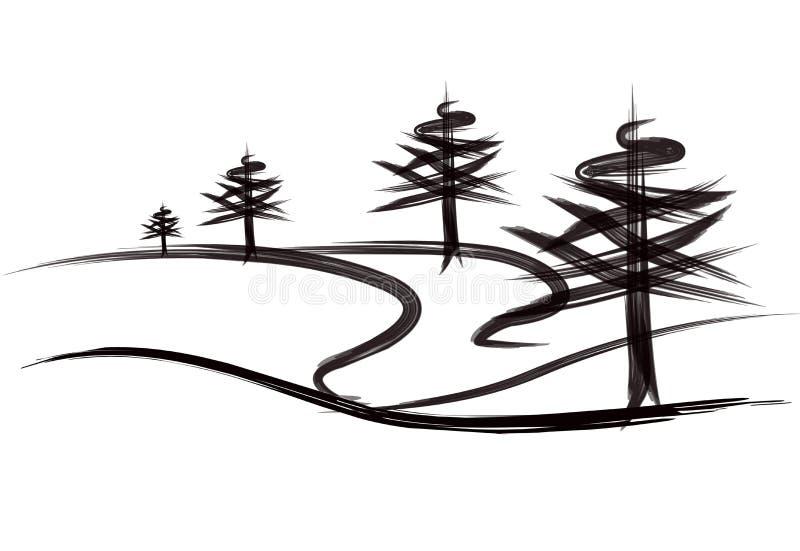Graphisme d'arbres