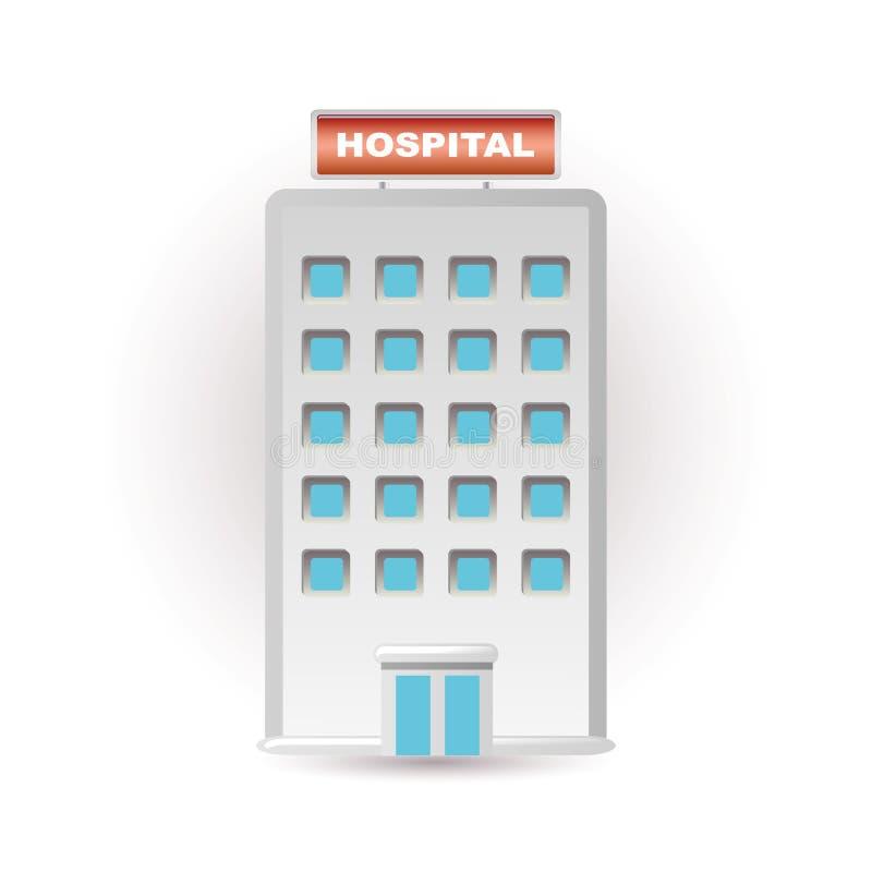 Graphisme d'hôpital illustration de vecteur